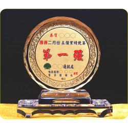 水晶拱型獎座CR3