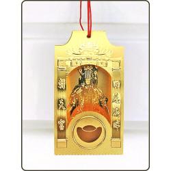 立體錢母卡-浮雕壓紋正面