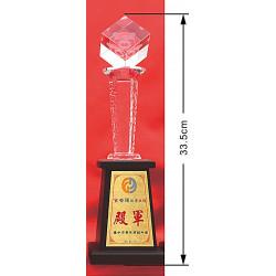 水晶獎盃CRY-C34Y