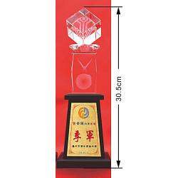 水晶獎盃CRY-C43Y