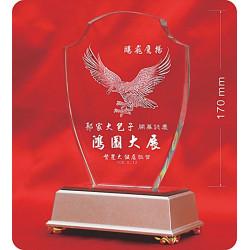 水晶獎牌CRY-E15L