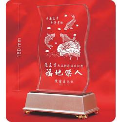 水晶獎牌CRY-E16L