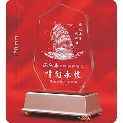 水晶獎牌CRY-E18L
