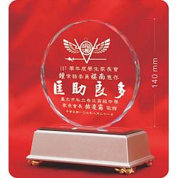 水晶獎牌CRY-E19L