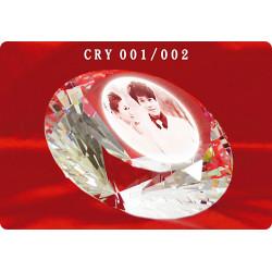 水晶獎牌-鑽石永恆CRY-002
