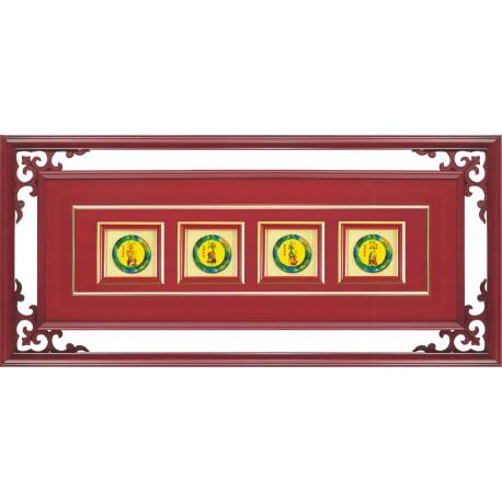 CL03 琉璃匾額-四季平安