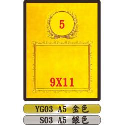 金質獎狀YG03 A5